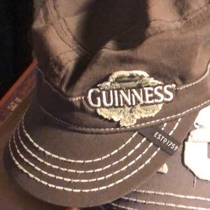 Guinness Brown Army Cap One Size Fits Most